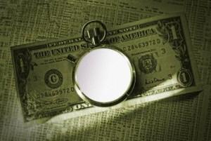 money and stopwatch