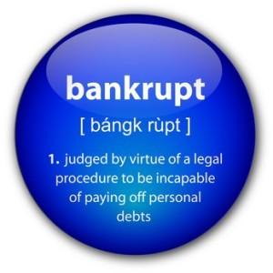 bankrupt definition